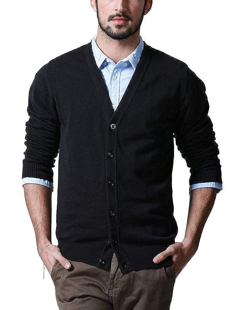 Romano Mens Solid Woollen Sweater in 10 Colors