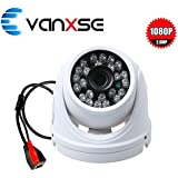 Vanxse CCTV SONY CMOS 2MP Megapixel HD 1080P Waterproof Network 24IR Leds IR-CUT Indoor/Outdoor Armour Dome Security IP Camera surveillance camera