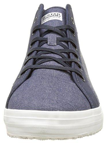G Star Kendo Mid, Zapatillas Altas para Hombre Azul (Chambray 3735)