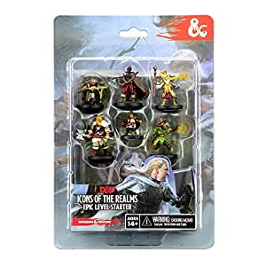 Wizkids RPG  D&D Icons of The Realms Miniatures Epic Level Starter