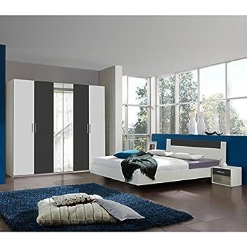 Wimex Schlafzimmer Set Ilona, bestehend aus einem Schrank, Bett und ...