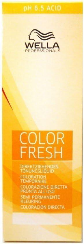 Wella Color Fresh 7/47 - Tinte para el pelo, 75 ml, tono rubio medio marrón rojizo