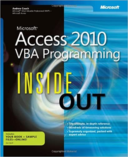 Microsoft Access 2010 Advanced Ebook
