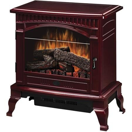 Dimplex Traditional Electric Wood Stove, DS5629CR, Cranberry