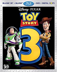 Toy Story 3 [Blu-ray 3D + Blu-ray + DVD + Digital Copy] (Bilingual)