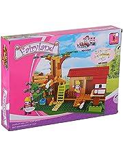 لعبة تركيب منزل فيري لاند للاطفال من اوسيني، 319 قطعة - متعددة الالوان