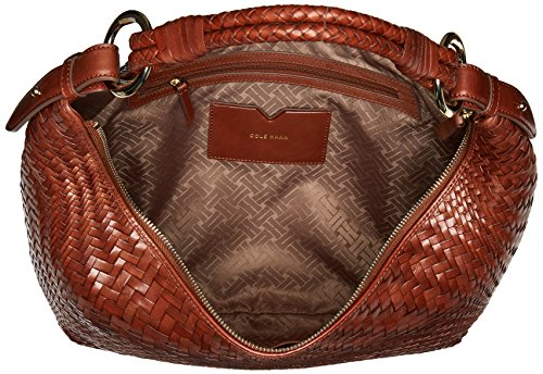 Haan Cole Genevieve Top Sequoia Hobo Zip Tddx1rw