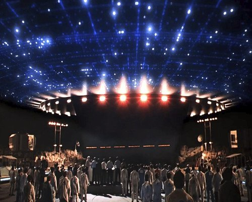 Close Encounters of the Third Kind giant Alien mothership