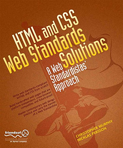 HTML and CSS Web Standards Solutions: A Web Standardistas' (Business Standard Website)