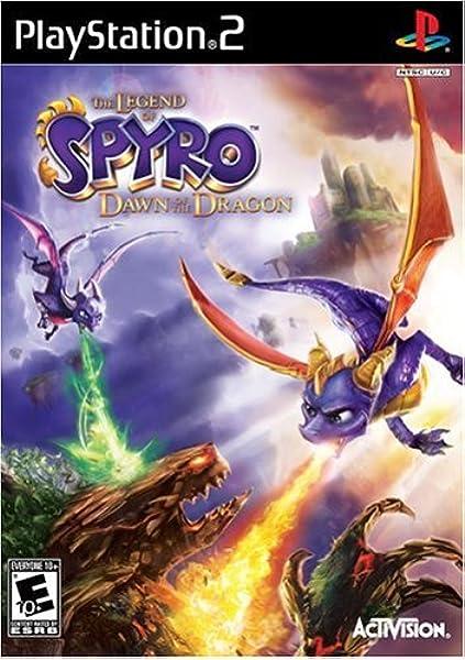 Amazon Com Legend Of Spyro Dawn Of The Dragon Playstation 2