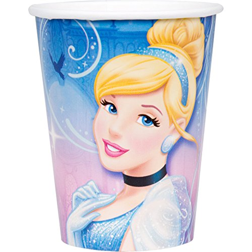 Cinderella 'Sparkle' Paper Cups (8ct)