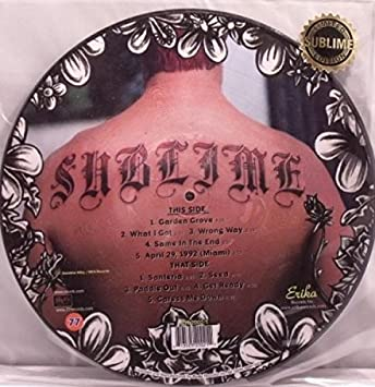 Sublime Sublime Picture Disc Amazon Com Music