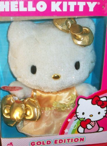 Hello Kitty Gold Edition Plush by Sanrio