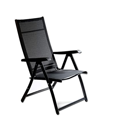 Merveilleux Heavy Duty Durable Adjustable Reclining Folding Chair Outdoor Indoor Garden  Pool (1)