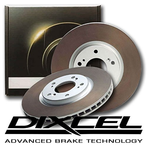 DIXCEL ディクセル ブレーキローター HDタイプ リア用 (アコード CU2 08/12~ TYPE S) B0773G45XR