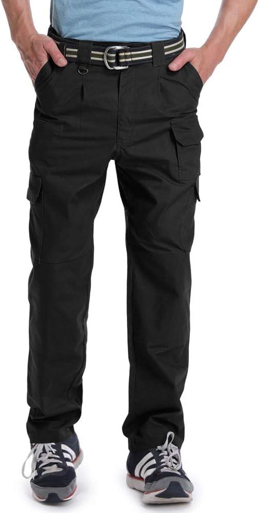 OCHENTA Mens Lightweight Ripstop Tactical Pants