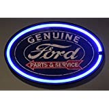 Ford Genuine Parts and Service LED Sign, 16