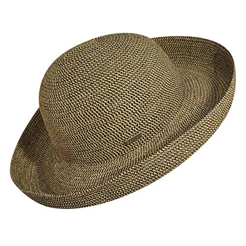 Hat Rattlesnake - Betmar Women's Classic Roll Up Upturn Brim Hat, Rattlesnake One Size