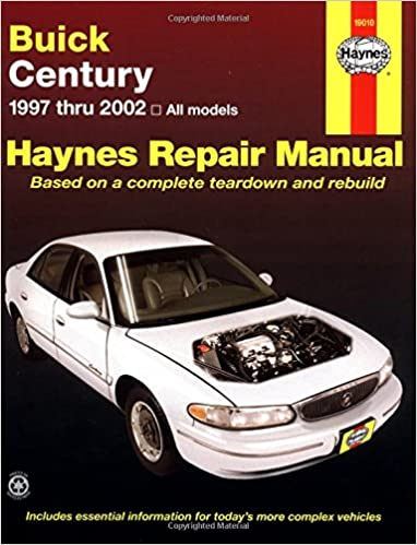 Buick century 1997 thru 2002 haynes repair manuals haynes buick century 1997 thru 2002 haynes repair manuals haynes 9781563924712 amazon books fandeluxe Gallery