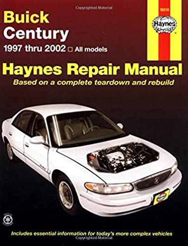 buick century 1997 thru 2002 haynes repair manuals haynes rh amazon com 2004 Buick Regal 1995 Buick Regal