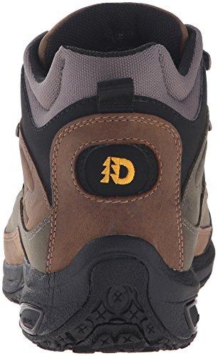 Dunham by New Balance Mens Cloud Mid Cut Waterproof Boot,Grey,7.5 D