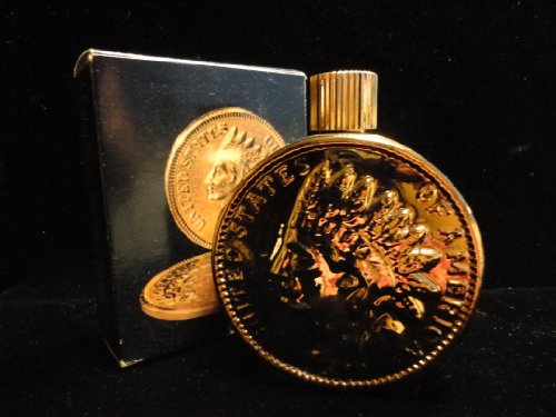 Avon Indian Head Penny Excalibur After Shave 4. Fl. Oz
