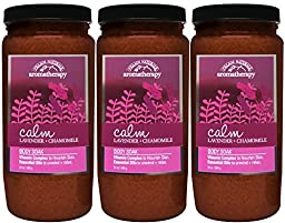 Village Naturals Aromatherapy Calm Lavender and Chamomile Body Soak 20 oz. 3-pack