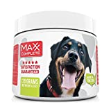 Probiotics for Dogs | MaxxComplete Advanced Non Dairy Supplement | Relieve Gas, Diarrhea, Bad Breath, Itching | 3.6 Billion CFUs | All Natural Dog Probiotic Powder with Prebiotic and Digestive Enzymes