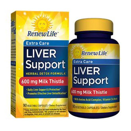 ReNew Life Extra Care Liver Support 90 Capsules
