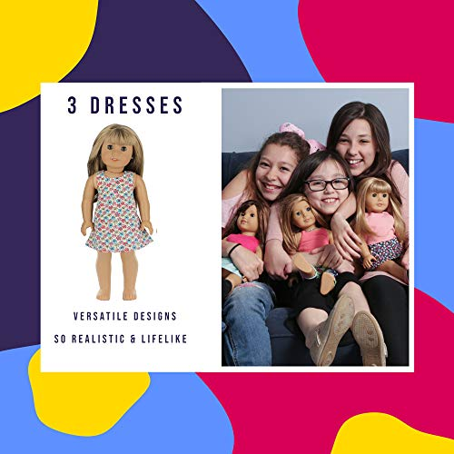 """Doll Clothes for American Girl 18"""" inch Dolls Wardrobe Makeover Outift"""