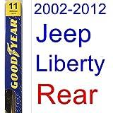 2002-2012 Jeep Liberty Wiper Blade (Rear) (Goodyear Wiper Blades-Premium) (2003,2004,2005,2006,2007,2008,2009,2010,2011)