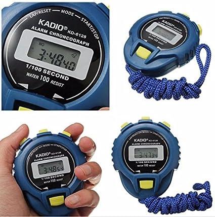 Kycut Cronómetro con cronómetro digital en línea, cronómetro digital LCD, temporizador digital, cronómetro