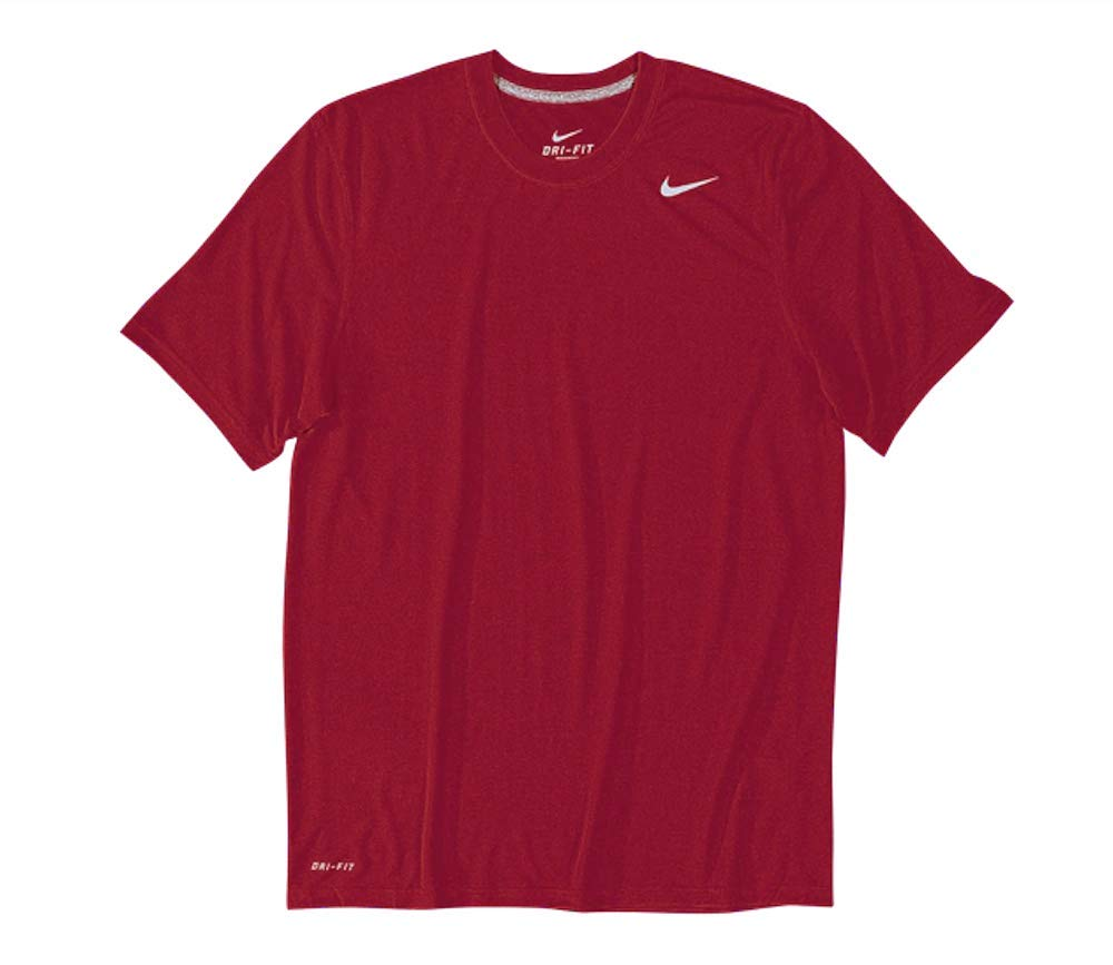 Nike Men's Legend Short Sleeve Tee, Cardinal, S