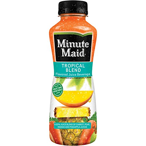 Minute Maid Tropical Blend 12 oz Plastic Bottles - Pack of ()