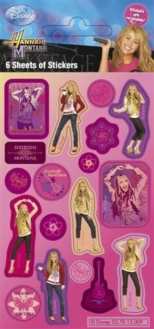 (Hannah Montana - Party Pack - Sticker Style)