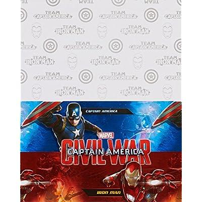 American Greetings Captain America: Civil War Plastic Party Table Cover, 54
