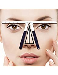 Three-Point Positioning Ruler Permanent Makeup Tattoo Eyebrow Measure Ruler Symmetrical Balance Grooming Stencil Tool