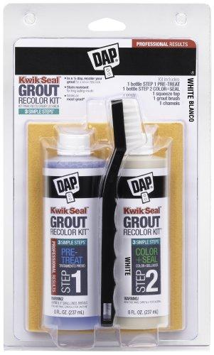 DAP DAP KWIK Seal Grout RECOLOR KIT-White White