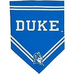 Bandana para perro. - Licencia NCAA BANDANA. - Bandana de perro y gato de fútbol/baloncesto. - Bandanas deportivas para mascotas para perros y gatos. 2 tamaños disponibles en 24 equipos escolares., Duke Blue Devils, Pequeño