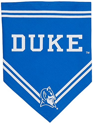 Collegiate Duke Blue Devils Pet Bandana, Small - Dog Bandana must-have for Birthdays, Parties, Sports Games etc.. -