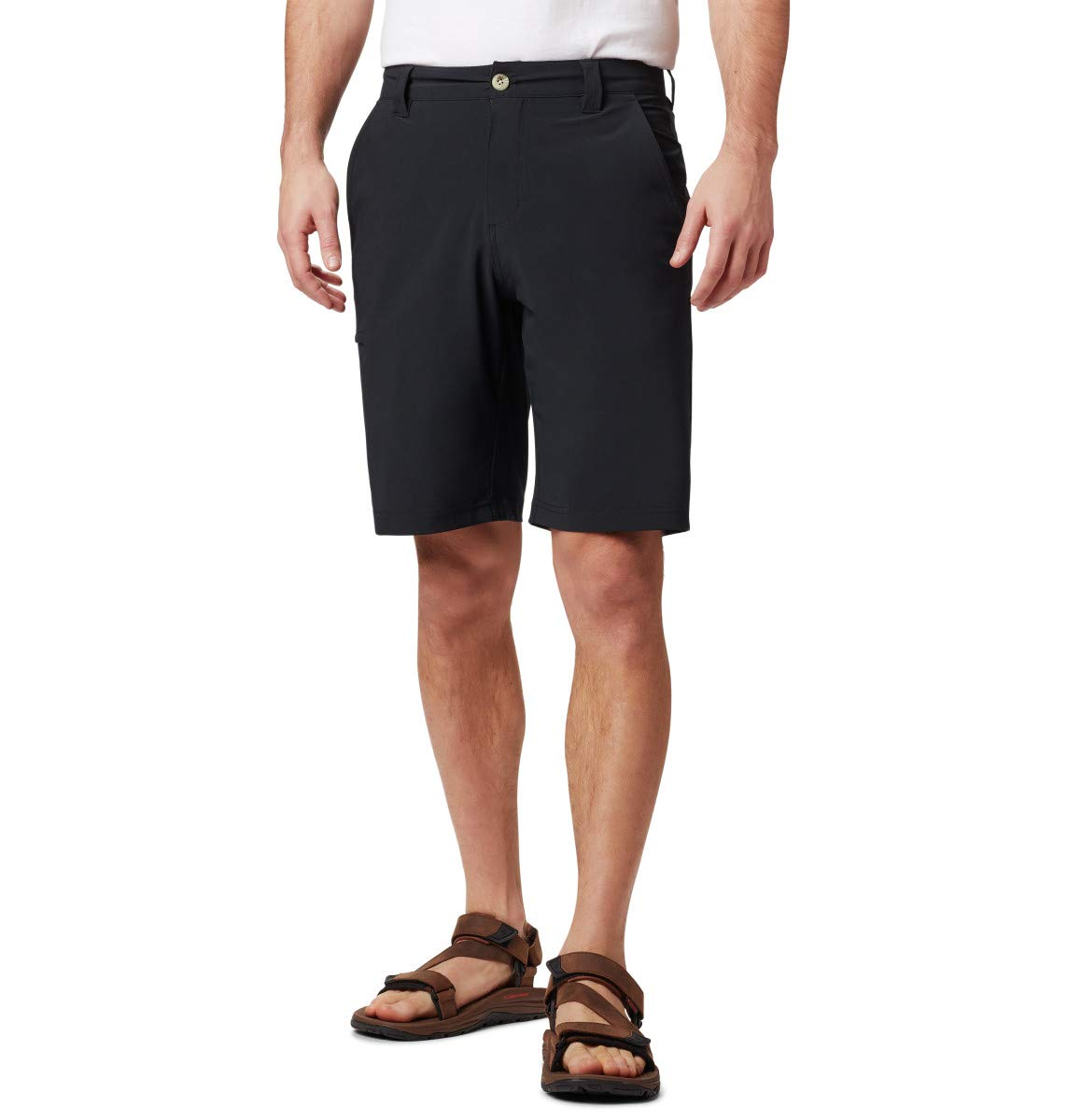Columbia Sportswear Grander Marlin II Offshore Shorts, Black, 36x10 by Columbia