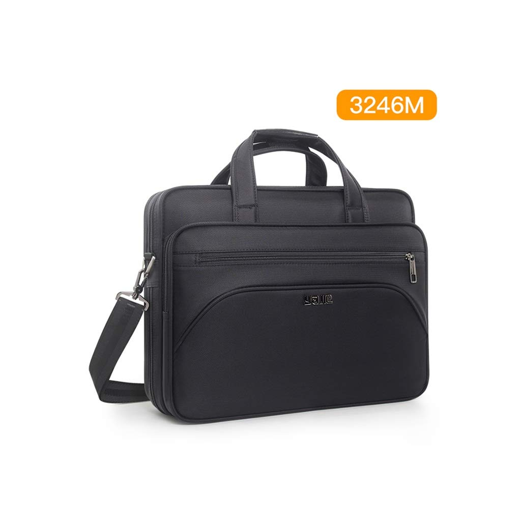 QSJY File Cabinets Business Document Bag, Oxford Cloth Durable Briefcase, Document Laptop Travel Bag 40×31×10.5CM (Size : 40×31×10.5CM) by QSJY File Cabinets