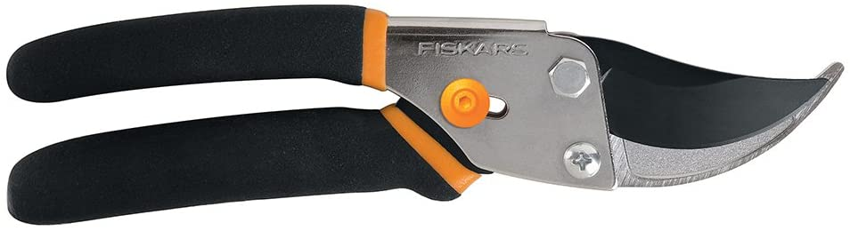 Fiskars Steel Bypass Pruning Shears (91095935J) : Hedge Shears : Garden & Outdoor