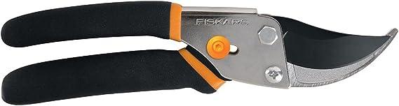 Fiskars 91095935J Steel Pruning Shears Bypass Pruner, 1