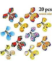 Joyibay 20PCS Flying Butterfly Funny Magic Butterfly Novedad Toy Sorpresa Toy para niños
