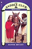 Riding Lesson by Bonnie Bryant front cover