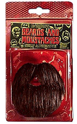 [Forum Amigo Mustache Beard Set, Brown, One Size] (Brown Mustache And Beard Costume)