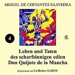 Leben und Taten des scharfsinnigen edlen Don Quijote de la Mancha: Buch 4