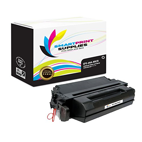 Smart Print Supplies Compatible 09A C3909A MICR Black Toner Cartridge Replacement for HP Laserjet 5si, 5si MX, Optra N, 8000 Series Printers (15,000 Pages)