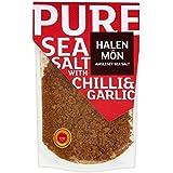Halen Mon Chilli & Roasted Garlic Sea Salt PDO - 100g